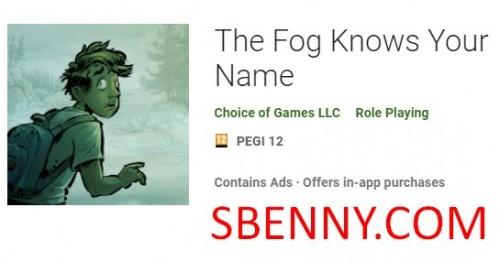 La niebla sabe tu nombre + MOD