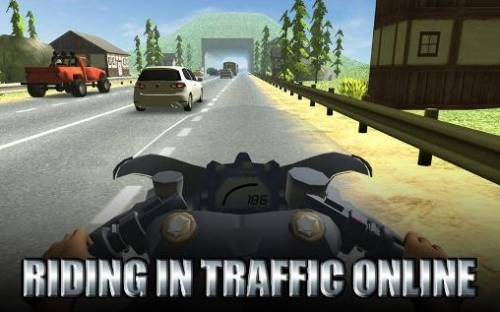 Riding in Traffic Online + MOD