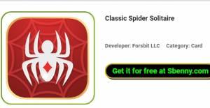 Solitaire Spider Klassiku