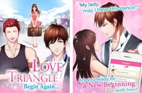 Jeu Otome - Love Triangle + MOD