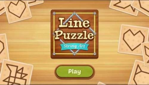 Linie Puzzle: String Art + MOD
