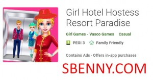 Girl Hotel Hostess Resort Paradise + MOD
