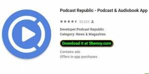 Podcast Republic - Podcast & amp; Аудиокнига App + MOD