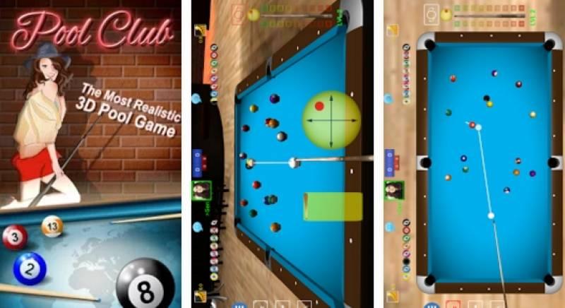 Pool Club 3D-Biljards Online + MOD