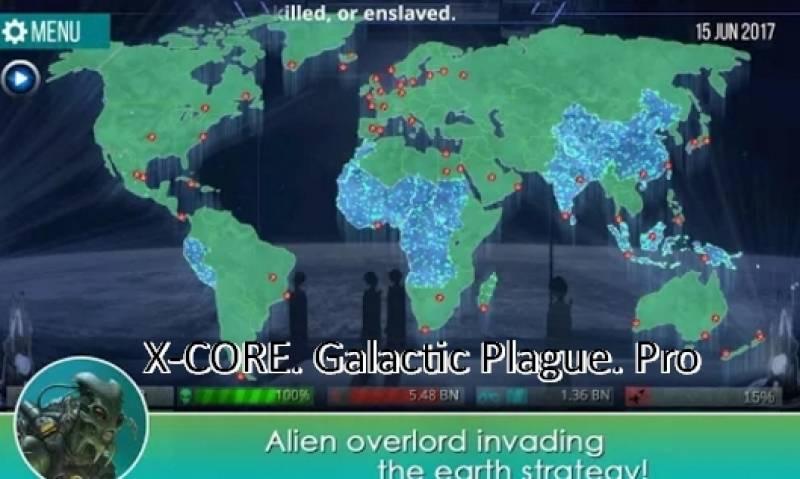 X-CORE. Galactic Pest. Pro + MOD