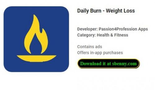 Ежедневный ожог - потеря веса + MOD