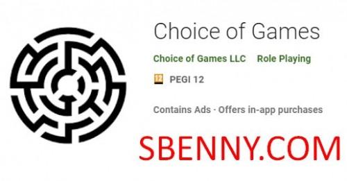 Выбор игр + MOD