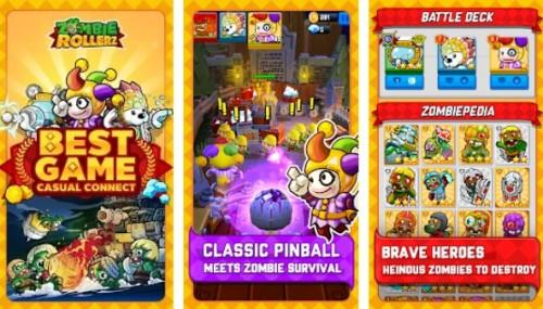 Zombie Rollerz - Pinball Abenteuer + MOD