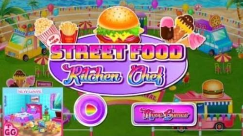 Street Food Kitchen Chef - jogo de cozinha + MOD