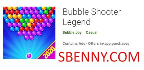 Bubble Shooter Legend + MOD