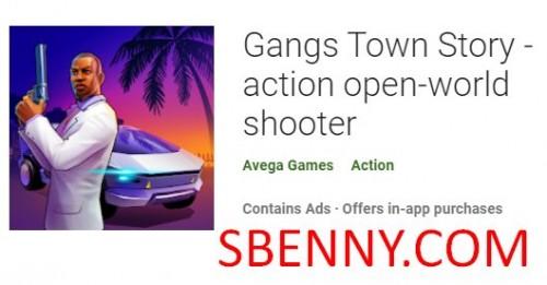 Gangs Town Story - اکشن تیرانداز جهان باز + MOD