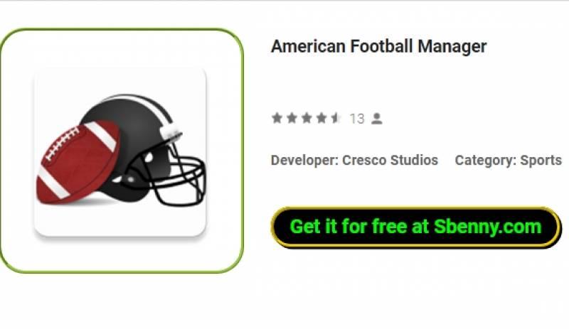 Gerente de Futebol Americano