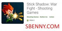 Stick Shadow: Il-Ġlieda tal-Gwerra - Logħob Shooting + MOD