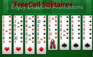 FreeCell Solitaire +