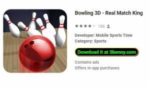 Bowling 3D - Real Match König + MOD