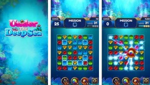 Under the Deep Sea: Jewel Match3 Puzzle + MOD
