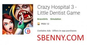 Сумасшедшая Больница 3 - Маленькая Игра Стоматолога + MOD