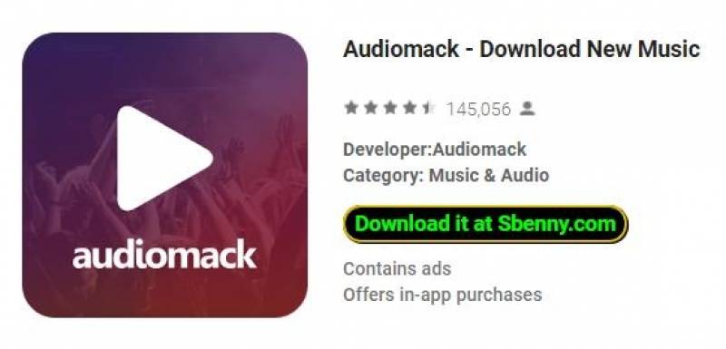 Audiomack - Télécharger New Music + MOD