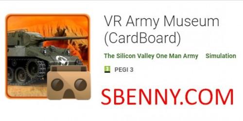Musée de l'armée VR (CardBoard)