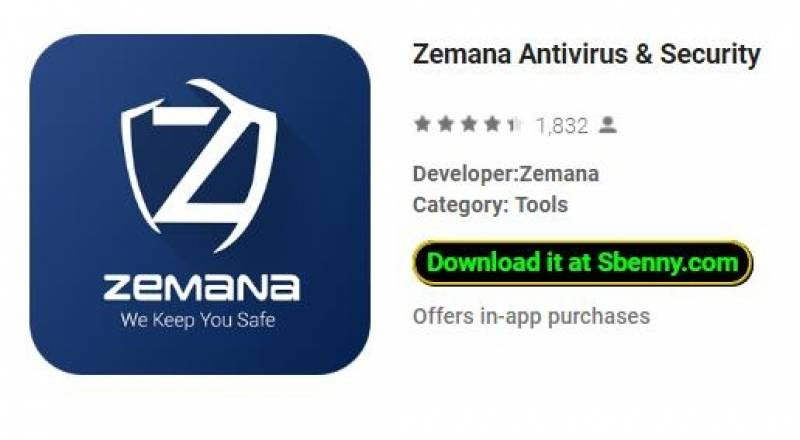 Antivirus Zemana & Sicurezza + MOD
