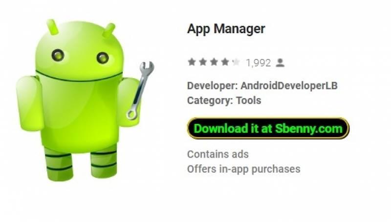 App Manager + MOD
