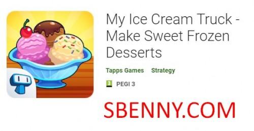 Mon camion de crème glacée - Faites des desserts glacés sucrés + MOD