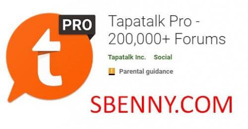 Tapatalk Pro - 200,000+ Forums + MOD