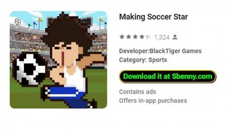 Making Soccer Star + MOD