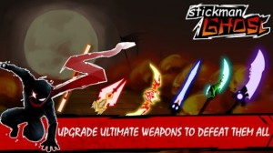 Stickman Ghost: Ninja Warrior Action-Offline-Spiel