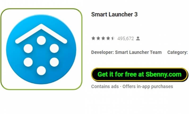 Smart Launcher 3 + MOD