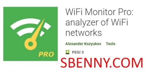 WiFi Monitor Pro: تجزیه و تحلیل شبکه های WiFi