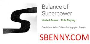 Equilibrio de superpotencia + MOD
