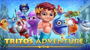 Морские пейзажи: Матч Trito 3 Adventure + MOD