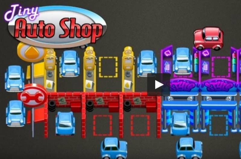 Tiny Auto Shop - Car Wash Game + MOD