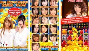 HOT Bikini Casino Slots - Modelo Calendario Casino + MOD
