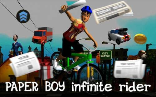 Paper Boy: Infinite Bicycle Rider + MOD