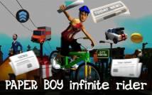 Boy Paper: Infinite Bicycle Rider + MOD