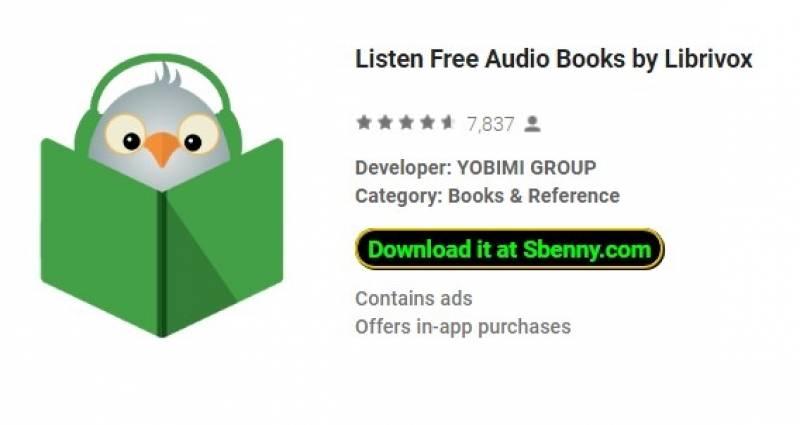 Слушайте бесплатные аудиокниги от Librivox + MOD