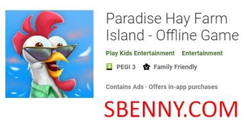 Paradise Hay Farm Island - Gioco offline + MOD