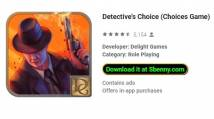 Detective's Choice (Choices Game) + MOD