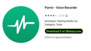 Parrot - Диктофон + MOD