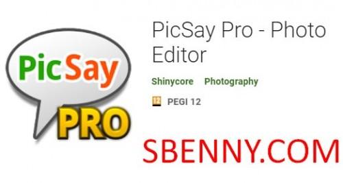 PicSay Pro - Editor de fotos