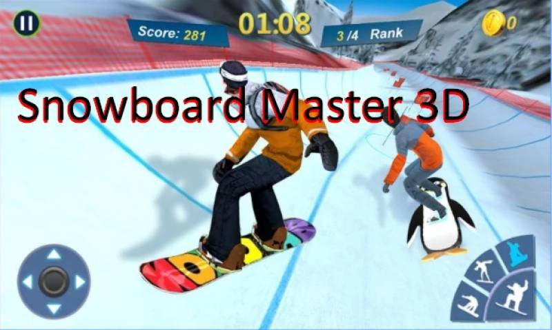 Master Snowboard 3D + MOD