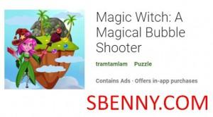 Magic Witch: Un jeu de tir à bulles magique + MOD