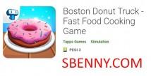 Boston Donut Truck - Juego de cocina de comida rápida + MOD