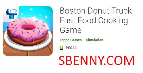 Boston Donut Truck - Fast Food Cooking Game + MOD