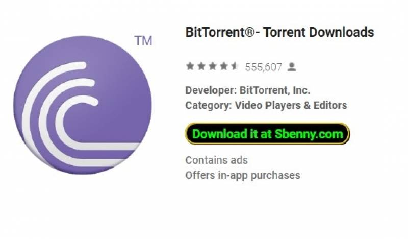 BitTorrent®- Descargas de Torrent + MOD
