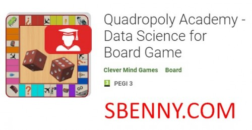 آکادمی Quadropoly - داده های علوم برای بازی هیئت مدیره + MOD