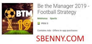 Sé el gerente 2019 - Estrategia de fútbol + MOD