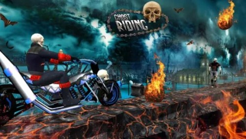 Ghost Riding 3D + MOD